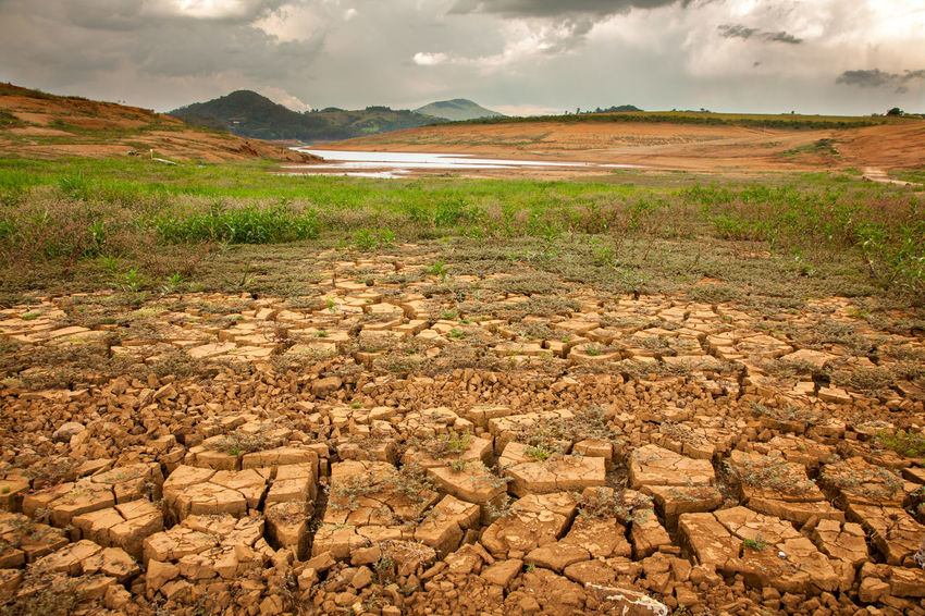 Desert Economy Global Warming No Water Weather Arid Climate Climate Climate Change Cracked Damm Deserted Draught Dry Ecology Global Global Warming Effect Harvest Heat Irrigation Jaguari Landscape Mud No People River Waterless