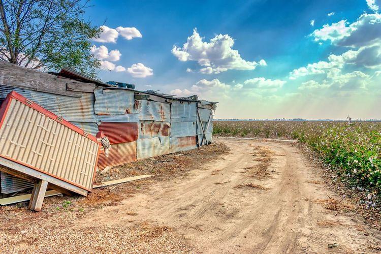 Po Monkeys Mississippi  Rural Juke Joint Sky Cloud - Sky Land Day Sunlight EyeEmNewHere