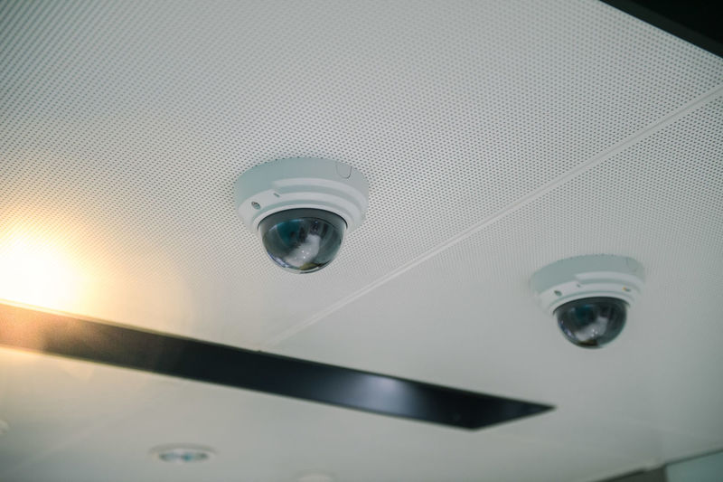 CCTV camera on the building. Alarm Alertness Background Building Business Camera Cctv Control Criminal Dome Electronic Electronics  Entrance Equipment Guard Hack Hacking Home Indoor Industry Interior Lens Look Looking Modern Monitor Monitoring Office Outdoor Privacy Private Property Protect Protection Record Safe Safety Secure Security Spy Surveillance System Technology Television Video View Wall Watching White