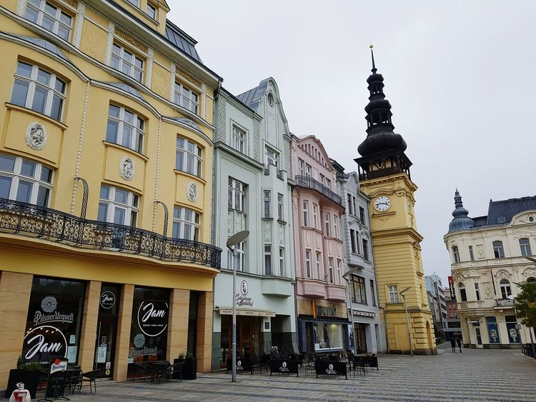 Ostrava City History Travel Destinations Outdoors Centre square Architecture Day Plaza Urban