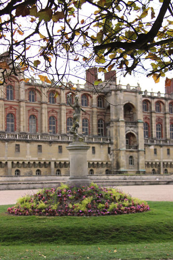 Architecture Building Exterior Built Structure Castle City Day Flower France Government Government Building History Ile De France Nature No People Outdoors Paris ❤ Saint Germain En Laye Travel Destinations Vertical