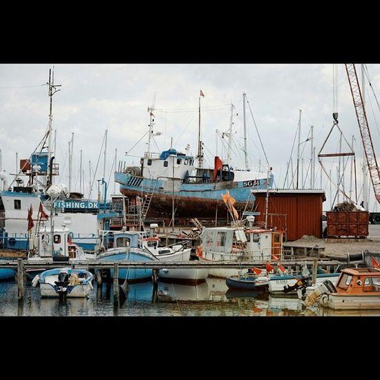 Throwback Thursday - Gilleleje Harbor Throwbackthursday  Gilleleje Nordsjaelland Fishingboats fischerboote rust decay rost shipyard dockyard wharf denmark dänemark danmark