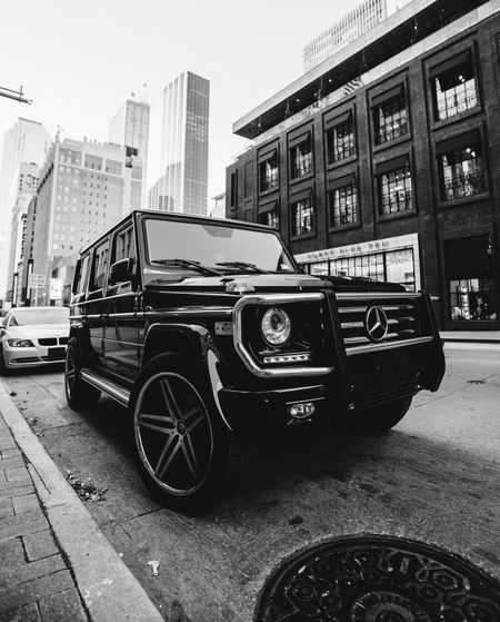 A random G-Wagon in Dallas, Tx. (My dream SUV) AMG Architecture Building Exterior Built Structure Car City D Day G550 G63 Land Vehicle Mercedes Mercedes-Benz Mode Of Transport No People Outdoors Sky Skyscraper Technology Texas Transportation
