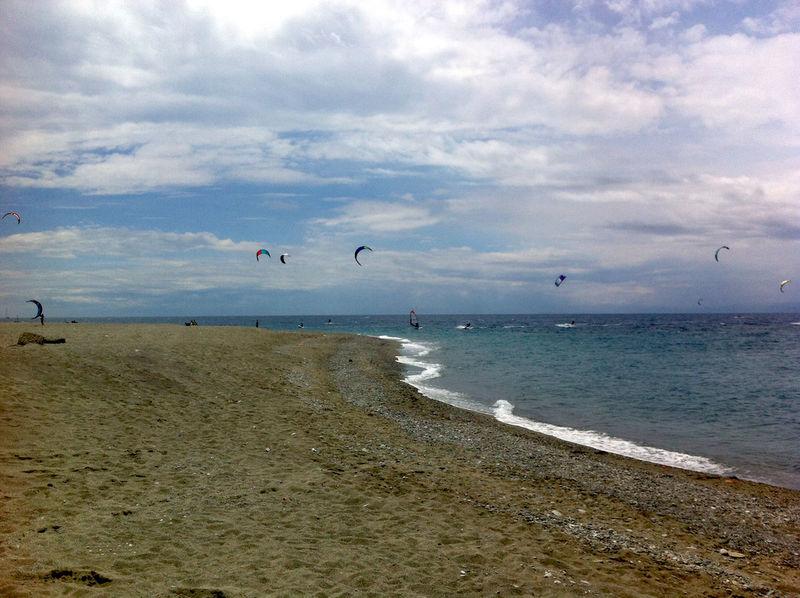 Life Is A Beach Kite Kitesurfing Reggio Di Calabria ReggioCalabria Sea Enjoying Life Sport