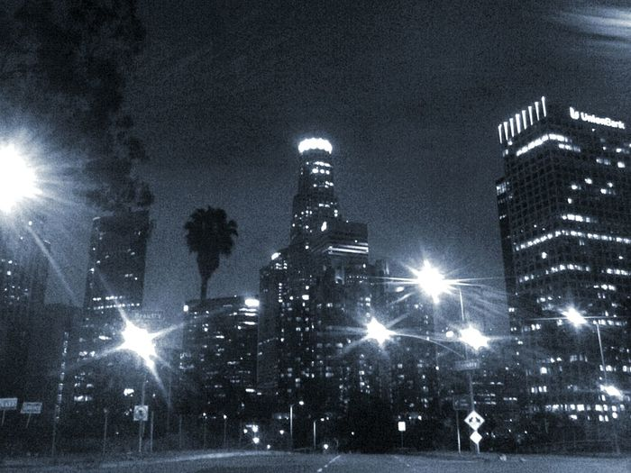 Los Angeles DowntownLos Angeles Downtown Cities At Night