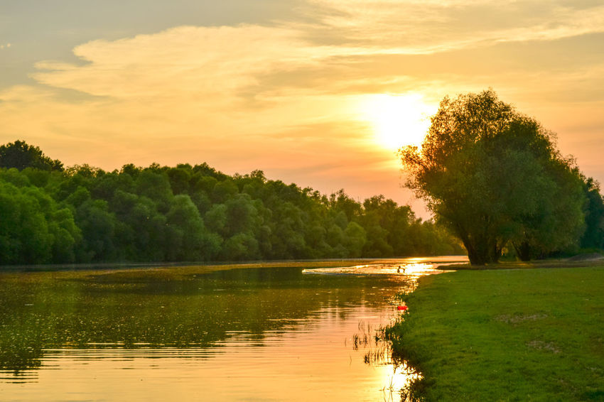 Beauty In Nature Beauty In Nature Dslrphotography Landscape Nature Nature Nikon Nikonphotography Outdoors Reflection Sky Sunset Tree Water
