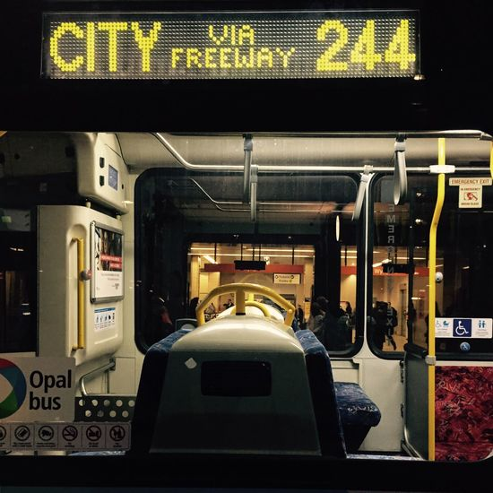 Bus Sydney Bus Transportation Public Transportation