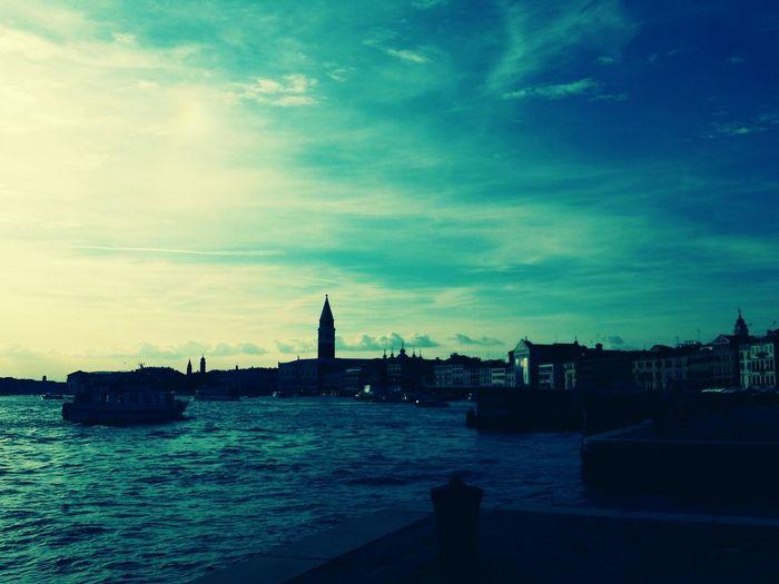 Blue Sky Summertime See The World Sea And Sky Italy Venice Samsung Galaxy S5 Samsungphotography