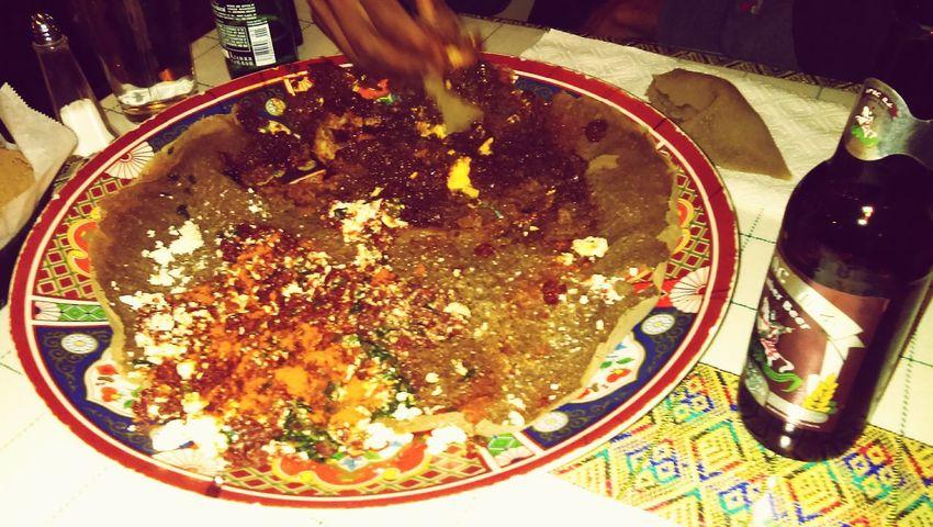 Kitfo, dorowat'.......taste of life Ethiopian Food lucy