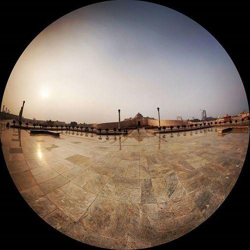 Fisheye! Evening Sunset Fisheye Photography Lucknow UttarPradesh Incredibleindia Atulyabharat India