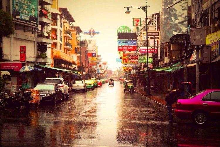 Koh San Road, Bangkok, Thailand 2015