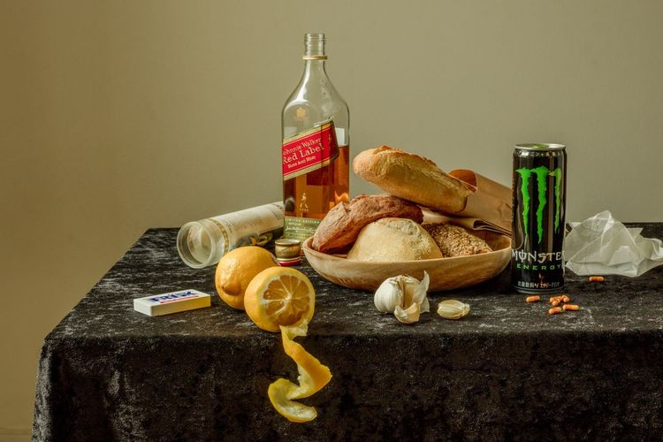 """Still Life Breakfast"" As bland as it seems, there's always something that throws you off in our everyday lives; these series of still life photos capture the true nature of matters by overemphasizing and staging a microscopic moment in an odd and unsettling manner. Bread Lemon Breakfast Still Life Indoors  No People The Still Life Photographer - 2018 EyeEm Awards Food And Drink Table Food Studio Shot Bottle First Eyeem Photo The Still Life Photographer - 2018 EyeEm Awards The Creative - 2018 EyeEm Awards The Still Life Photographer - 2018 EyeEm Awards"