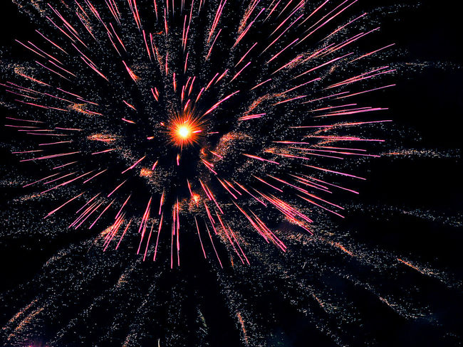 Arts Culture And Entertainment Celebration Event Exploding Firework Firework - Man Made Object Firework Display Fireworks Fireworks In The Sky Fireworksphotography Illuminated Long Exposure Low Angle View Motion Multi Colored Night No People Outdoors Sky Sparkler Sparks