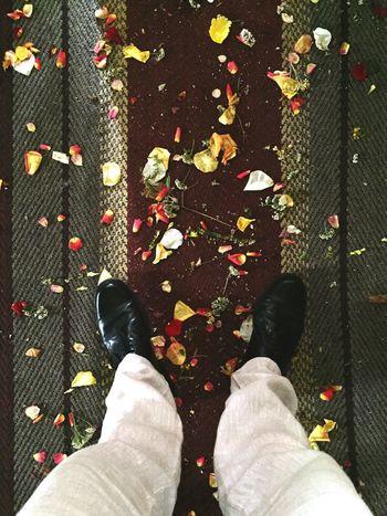 Shoes Floor Wedding Flowers Carpet