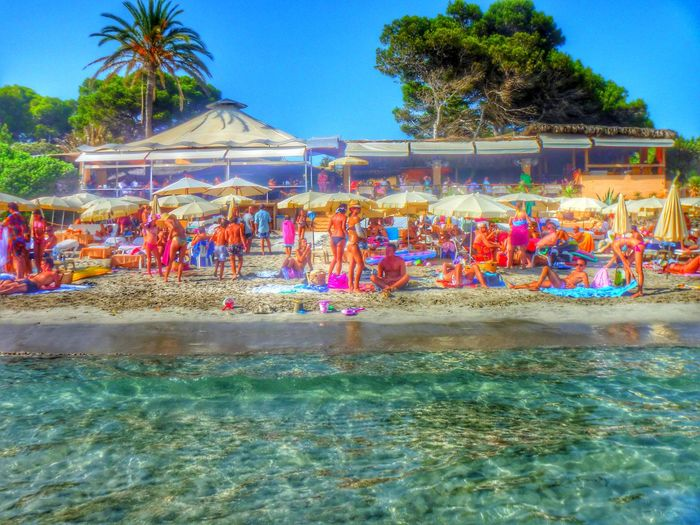Throwback Ibiza Beach