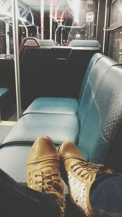 Bus City City Life Me My Shoes Boots Empty Private Ride Night Going Home Long Day Quiet