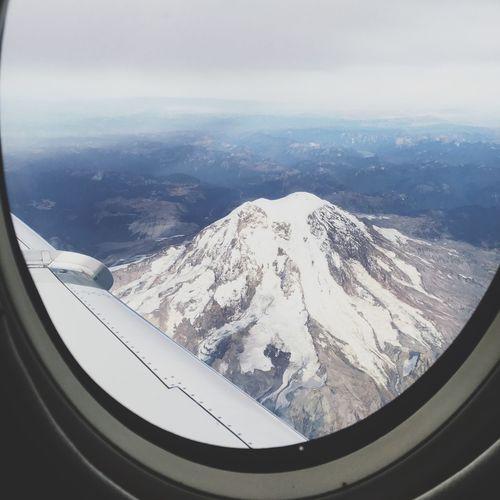 Mt. Rainier Outside My Window