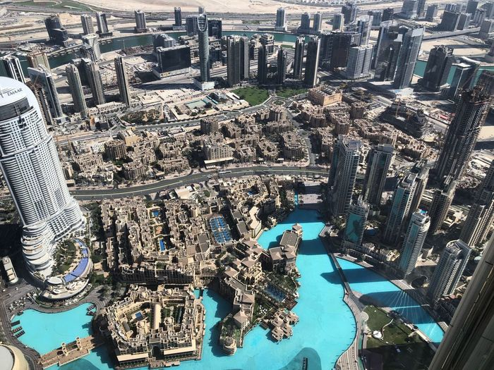 At the Top Dubai Burj Khalifa Backgrounds Full Frame Day No People Nature Sunlight Go Higher High Angle View Architecture Building Exterior