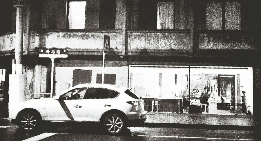 Waterhouse and Infiniti Infiniti Car Water House  Cityscapes Shanghai, China Streetphotography Monochrome Black And White
