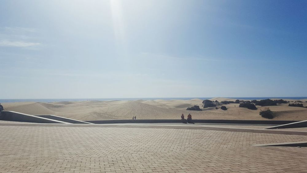 Sand Desert Sky Outdoors Day Beach Arid Climate Nature Sand Dune ScenicsBeauty In Nature Adults Only One Person Salt Basin Only Men Water Adult Salt - Mineral Animal Themes Dunes Dunas