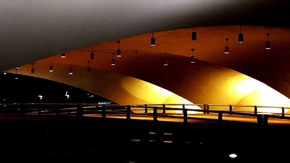Pittsburgh Pennsylvania Architecture Illuminated City Life Bridge City Life Waterfront Night Dark Light Adapted To The City Point State Park