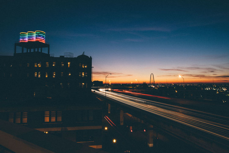 City Dallas Dallas Tx Sunset Golden Hour DFW Texas Canon Lights