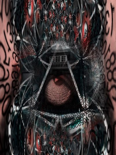 Dark Art The Black Lens Darkart Surreal Surrealism