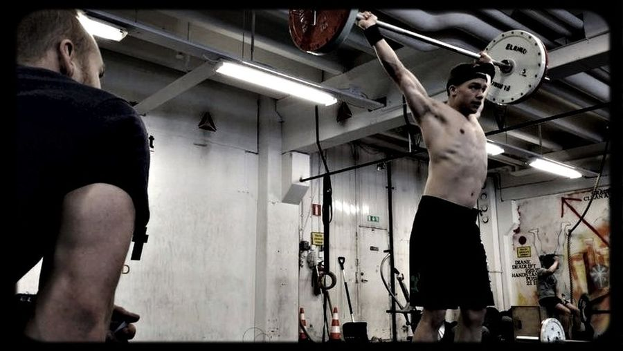 Crossfit games 14.1. Complete as many reps as possible in 10 minutes of 30 doubleunders and 15 powersnatch with 75 pound barbell. My result: 264 reps Crossfitathlete Fitness