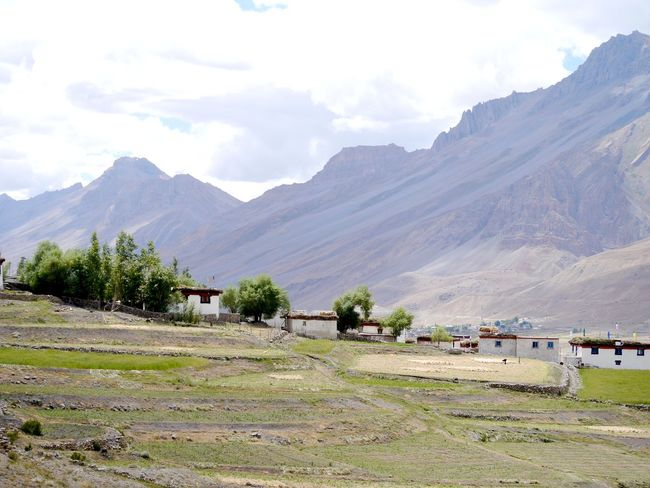 Beauty In Nature Budhist Centre Day Hill Himalayan Range Himalayan Road Idyllic Lahaul And Spiti Landscape Mountain Mountain Range Nature No People Non-urban Scene Outdoors Remote Scenics Sky Spiti Valley Tranquil Scene Tranquility