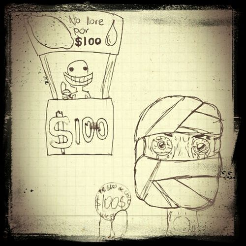 Hasta en las protestas nos quitan plata ... :/