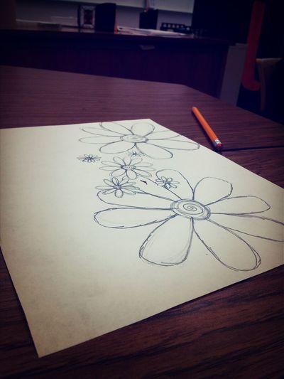 Drawing Doodles Flowers Whatidoinschool
