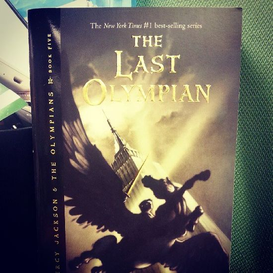 Finally..the last book of the series. Percyjackson Rickriordan Bookish