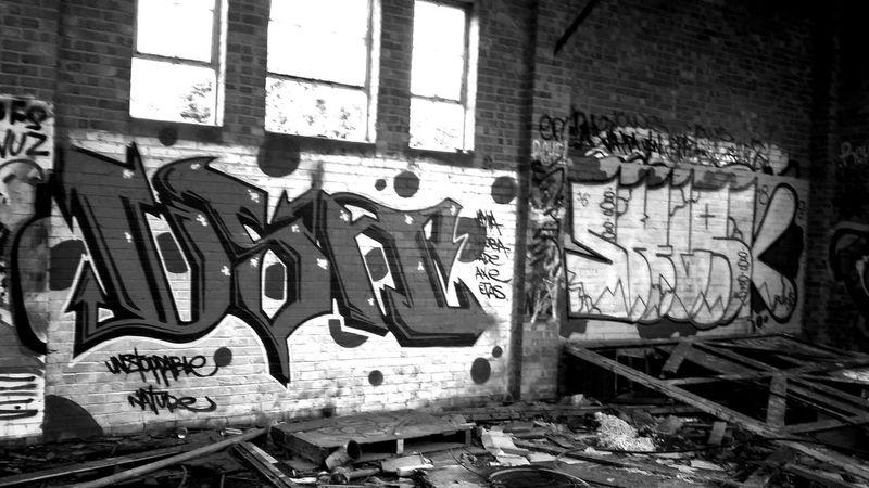 Secret Places Abandoned Buildings Graffiti Art Black And White Graffiti Abandoned Graffitti Wall EyeEm Gallery Eyem Best Edits Eyeem Graffiti
