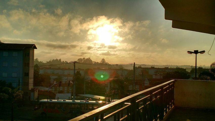 Uma manha no rodocotidiano Sunset Sky Day Nature