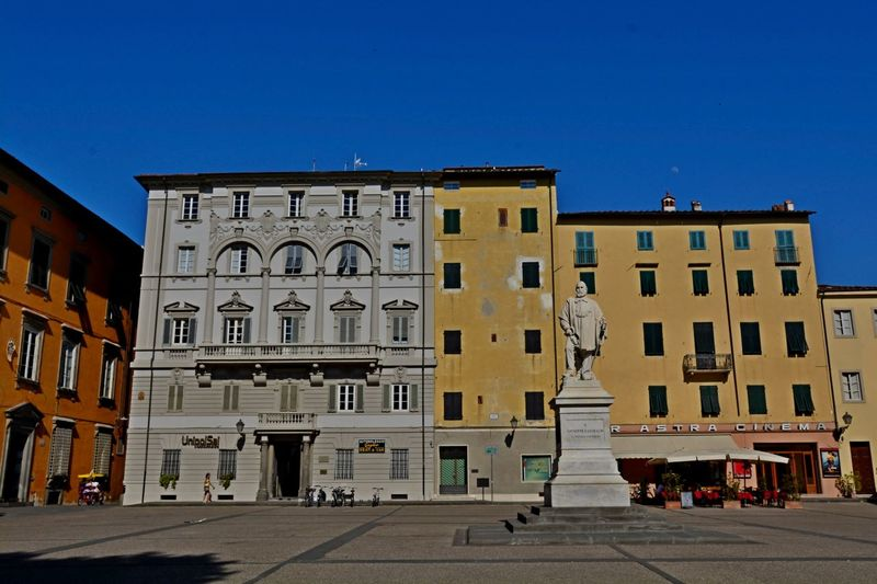 Lucca Italy Architecture Blue Building Exterior Built Structure City Cityscape Clear Sky Day Façade No People Outdoors Sky Travel Destinations