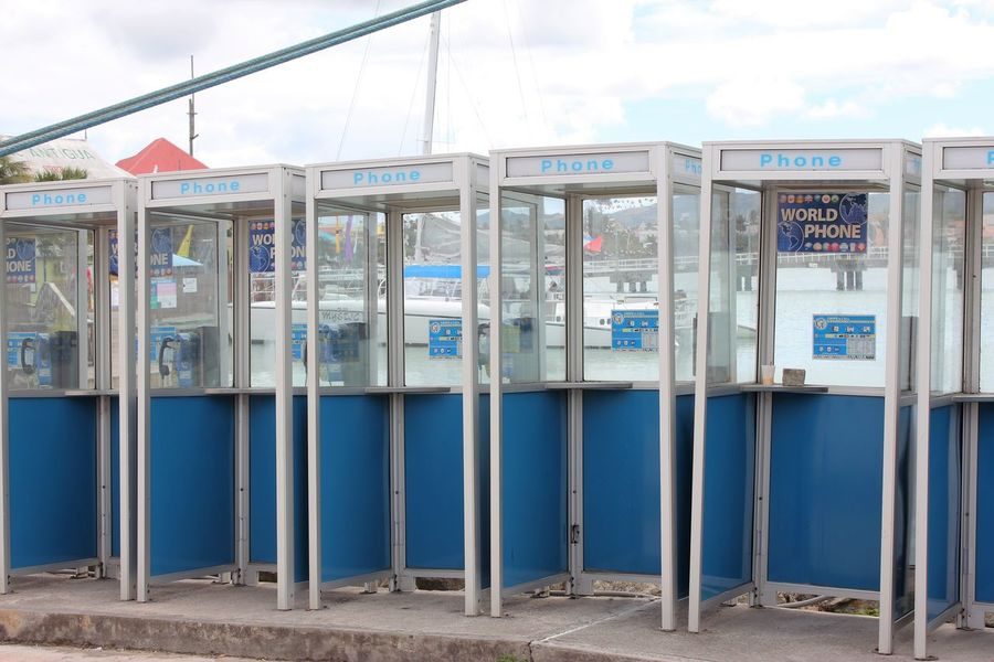 Public Telephones in Port of Saint John's on Antigua Payphoneography Payphones Public Telephone Booth Public Telephone Communication Communication Device Communication Equipment Communication Is Everything Communication Technology Day No People Outdoors Payphone On Every Corner Payphone Telephone Payphones Of The World Public Telephones Sky