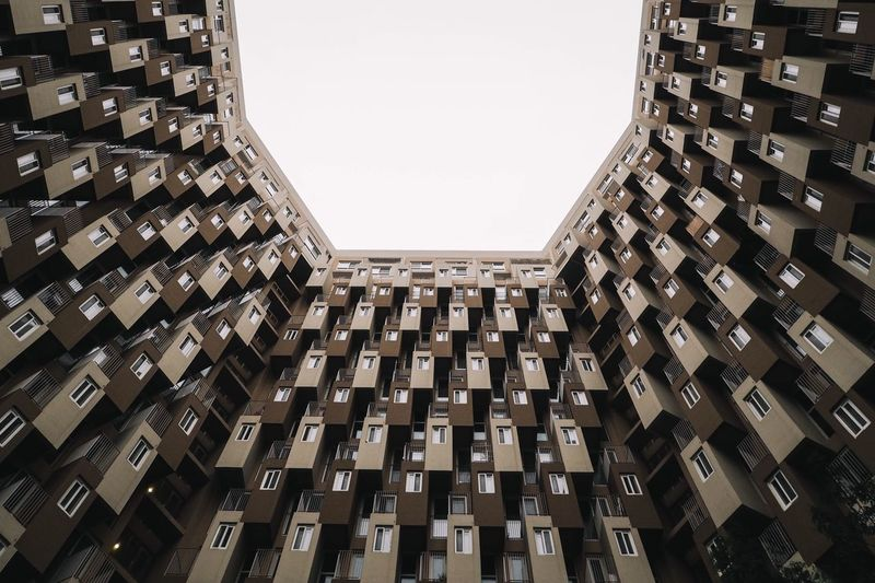 The Architect - 2017 EyeEm Awards Architecture Built Structure Low Angle View Building Exterior Residential Building Outdoors No People Eye4photography  Modern Architecturephotography Eyeemphotography EyeEm Best Shots EyeEm Gallery Architecture_collection EyeEmBestPics