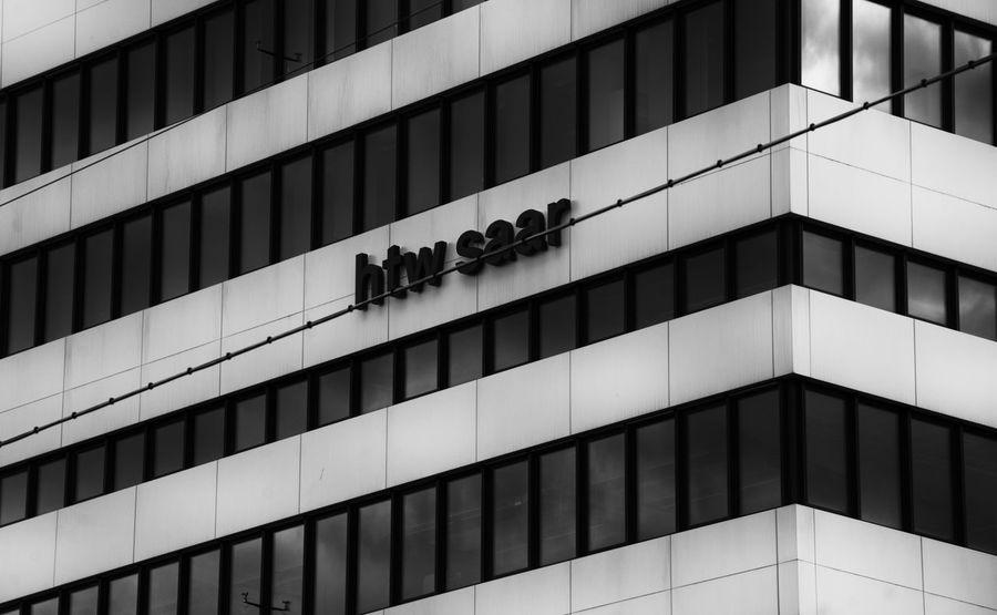 University HTW Architecture Architecture_collection Blackandwhite Blackandwhite Photography Building EyeEm Htw Saar Saarbruecken Saarland