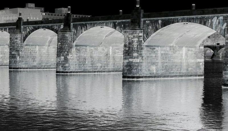 Arches. I Love Bridges Bnw_friday_eyeemchallenge Bridge Bridge - Man Made Structure Bridges Bridgeporn Inverted Blackandwhite Black And White Black & White B&w Susquehanna Susquehanna River River Water Nikon Photography EyeEm Best Shots EyeEm Best Edits EyeEm Gallery EyeEmBestPics Harrisburg, Pa Harrisburg