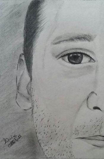 Human Face Close-up Saudade Pensandoemvocê MeuDesenho Minha Arte MyDrawing