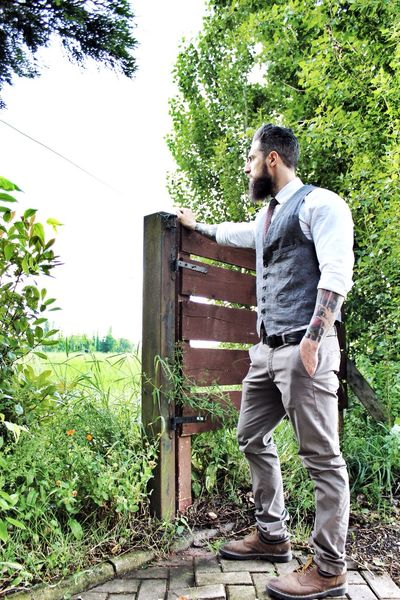 Looking to the infinity and beyond... Tattoo Beard Bearded Tattooedmen Man With Tattoo Beardedlifestyle