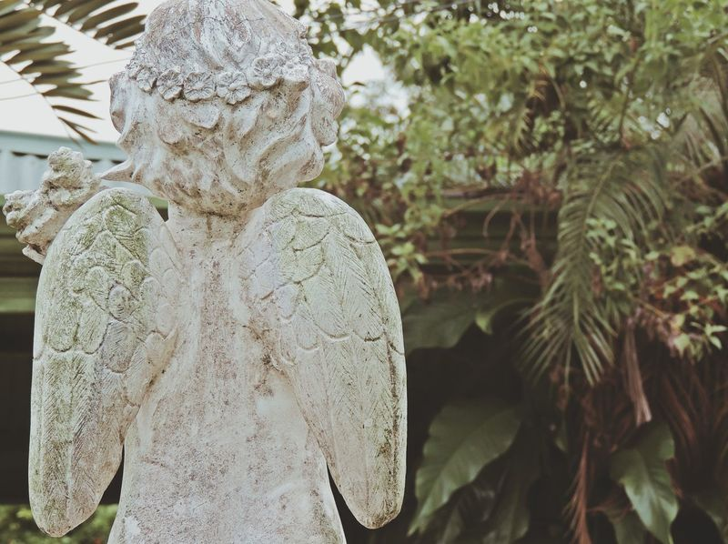 Cherub's back on a tomb... Global EyeEm Adventure - Philippines AllSaintsDay