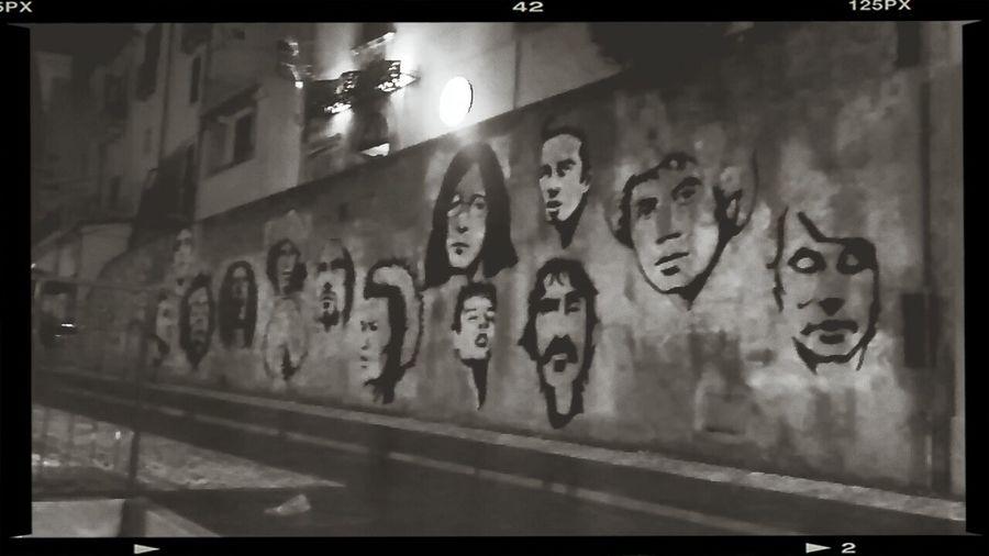 Music on walls Halloffame Walloffame Art Urbanwalls