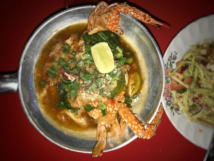Maggie Ketam Maggie Crab Ketam Food Foodporn Seafood Tomyam Thailand Thailandfood Kerabumango Delicious ♡ DELICIOUS FOOD ♡ Spicy Food Spicy Thai Food