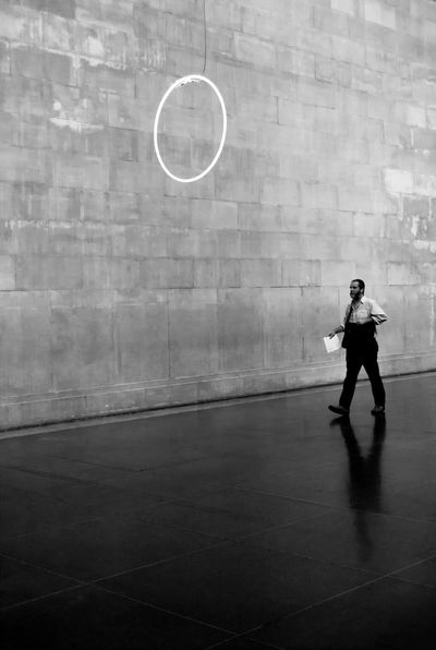 Endgame Real People Full Length One Person Leisure Activity Standing Lifestyles Mid-air Casual Clothing Skill  Men Playing Day Architecture Indoors  Court People TateBritain London