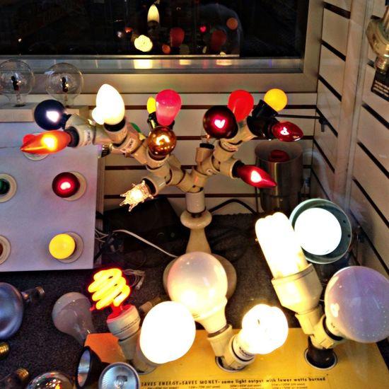 Colorful Lightbulbs