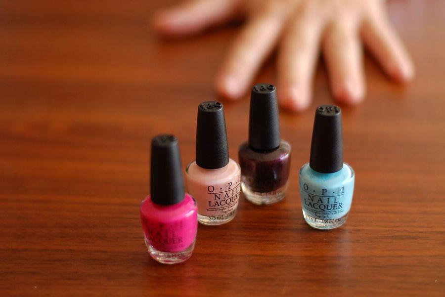 EyeEm Selects OPI Nail Lacquer Nails Human Body Part Painting Fingernails Valencia, Spain