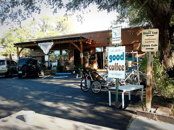 cup of coffee Coffee Time Phoneography The Irwin Collection Coffee ☕ Colorado Bike Rider Bicycling coffee shop Outdoor Photography American Life Summertime ♥ Sunny Day☀ Friends Taking Photos EyeEm Gallery Bike Mission Eyeem History Rustic Charm Bike Parking Famous Place Here Belongs To Me Things I Like Everyday Life