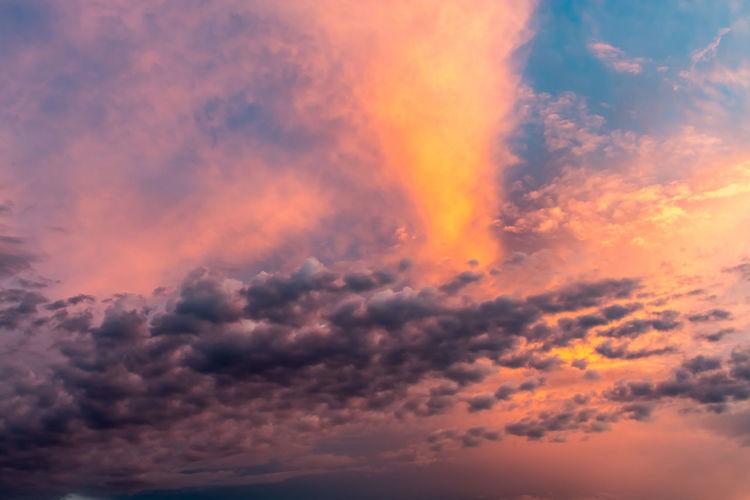 Sunset sky Croatia Croatia ❤ Backgrounds Beauty In Nature Cloud - Sky Cloudscape Croatia ♡ Croatiafulloflife Dramatic Sky Full Frame Idyllic Low Angle View Majestic Meteorology Nature No People Non-urban Scene Orange Color Outdoors Romantic Sky Scenics - Nature Sky Sunset Tranquil Scene Tranquility