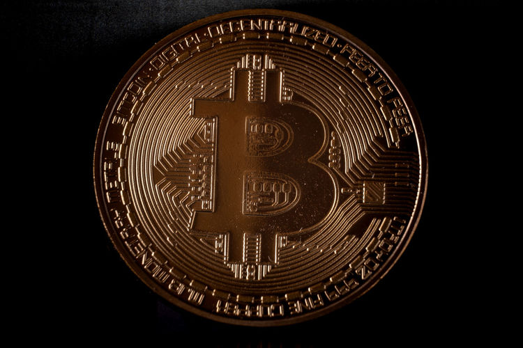 Bitcoin, virtual world payment system Business Economy Gold Golden Money Money Money Virtual Architecture Art And Craft Bitcoin Black Background Carving - Craft Product Circle Close-up Craft Creativity Cut Out Design Dollars Euro Finance Geometric Shape History Indoors  Investment Money No People Pattern Shape Single Object Still Life Studio Shot The Past